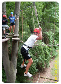 In Acti上 - High Ropes Line